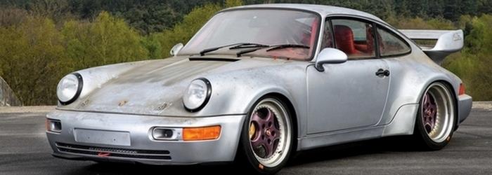 На аукционе два Porsche «ушли с молотка за кругленькую сумму» 2