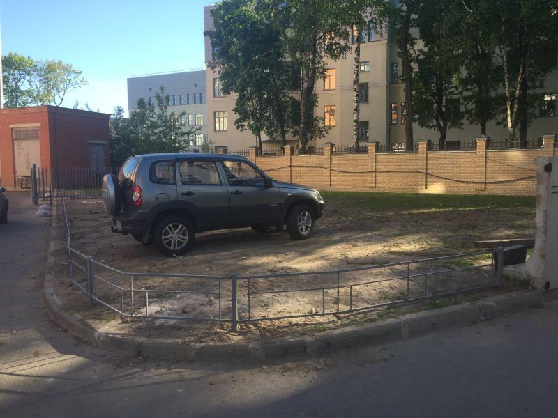 «Мастер парковаться на газоне не ожидал плохого исхода» 1