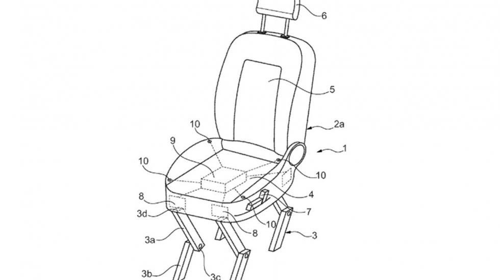 Разработчики Ford «научат кресла ходить» 1