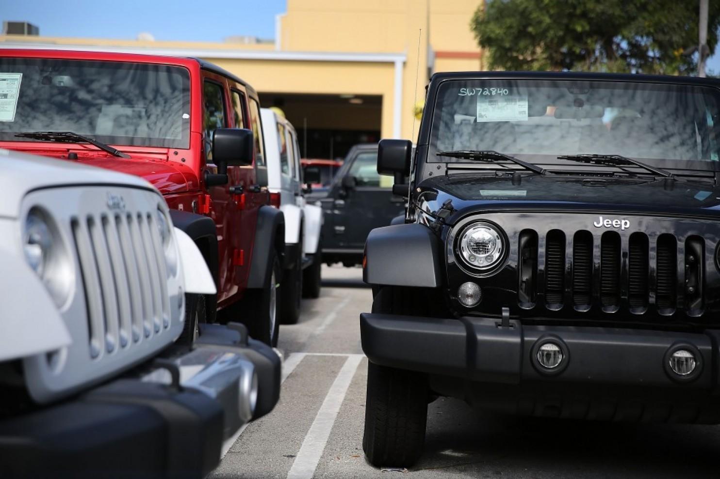 «Хакеры» угнали 150 Jeep, «взломав базу данных» 1