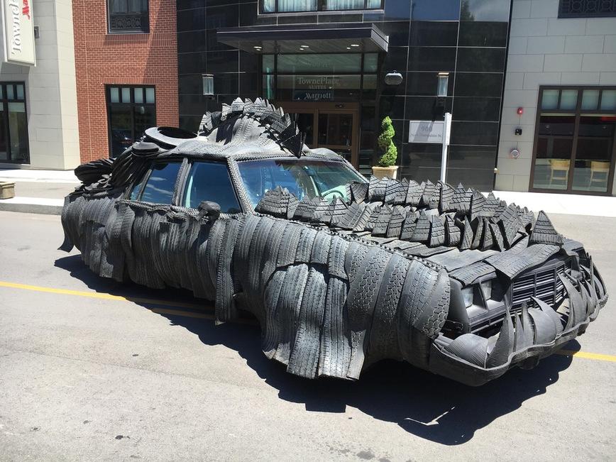 «Резиновый тюнинг или зачем уродовать автомобиль» 1