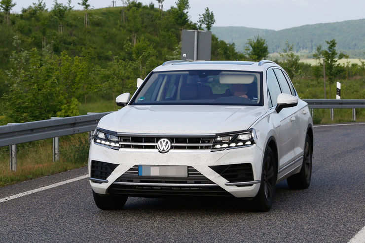 Компании VW «пришлось рассекретить» внешность нового кроссовера 1