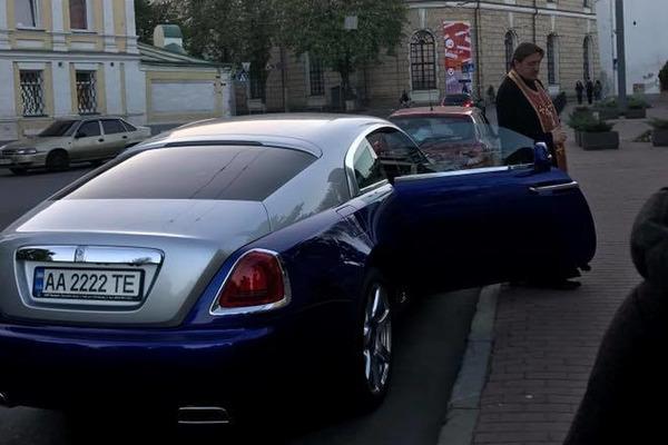 В Киеве Rolls-Royce стоимостью 11 миллионов угодил в ДТП 2