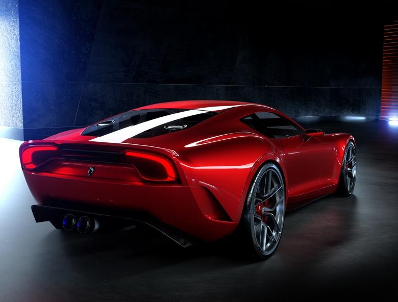Дизайнер Bugatti Chiron взялся за Ferrari 4