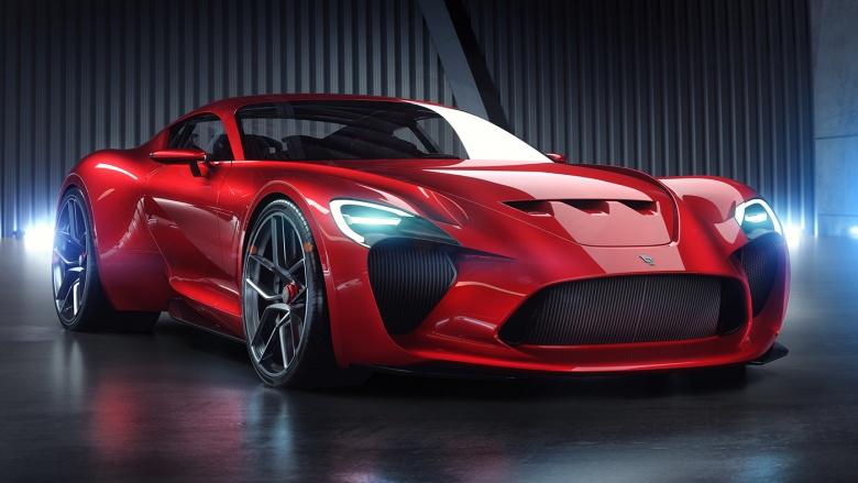 Дизайнер Bugatti Chiron взялся за Ferrari 2