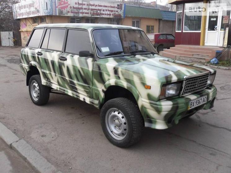 Украинец собрал внедорожник «из того, что было» 2