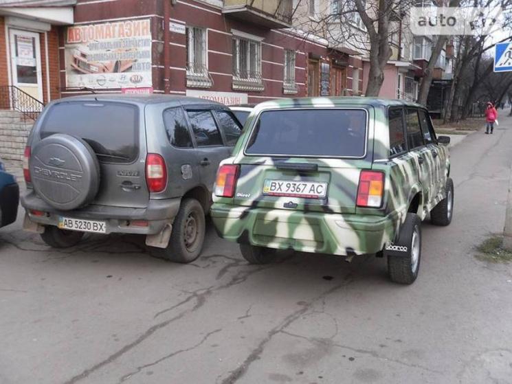 Украинец собрал внедорожник «из того, что было» 1