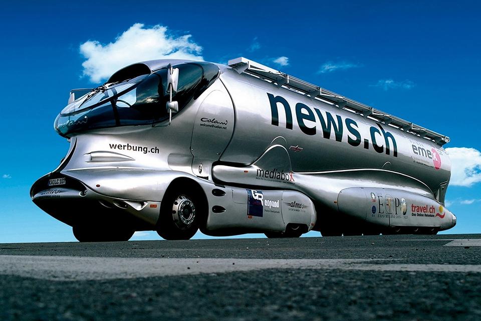 Самые «дикие» концептуальные грузовые автомобили 2