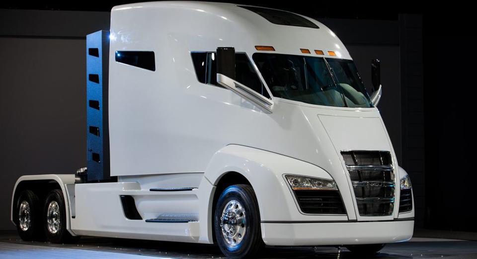 Самые «дикие» концептуальные грузовые автомобили 11