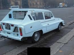 Украинец построил «самый странный» автомобиль 2