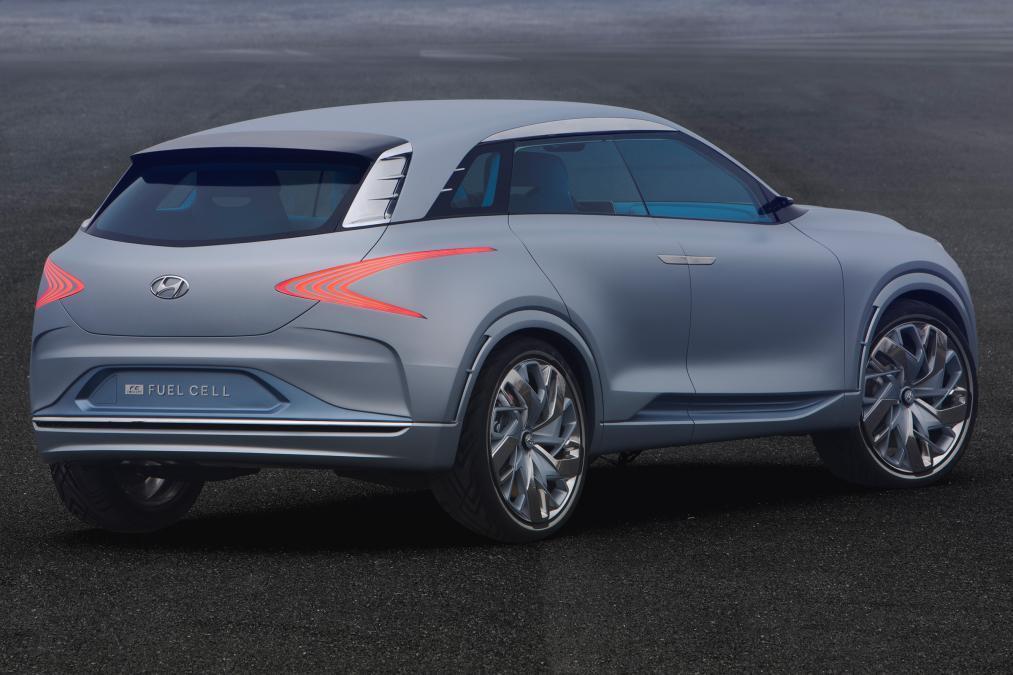 Hyundai показал прототип нового водородного внедорожника 1