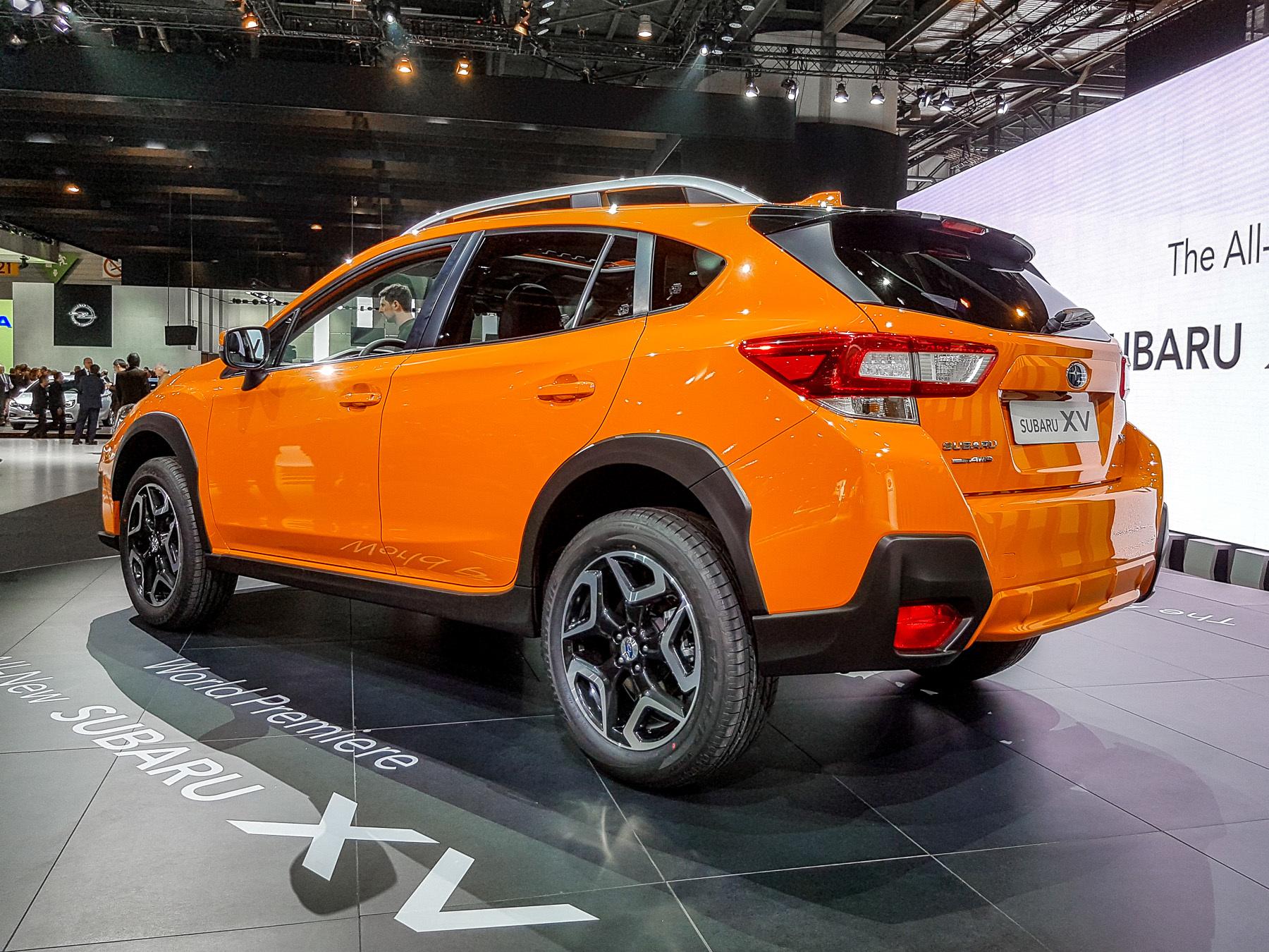 XV — новый кроссовер Subaru со старым именем 1