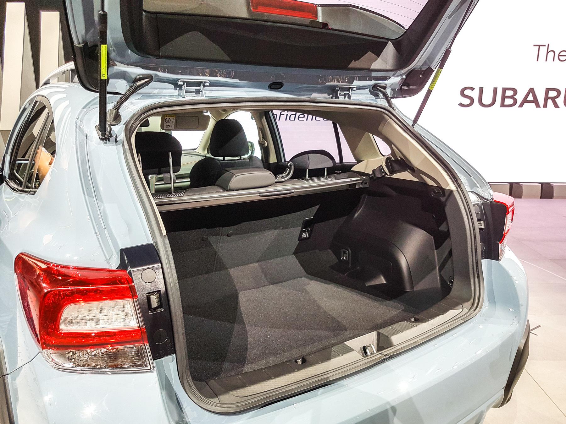 XV — новый кроссовер Subaru со старым именем 3