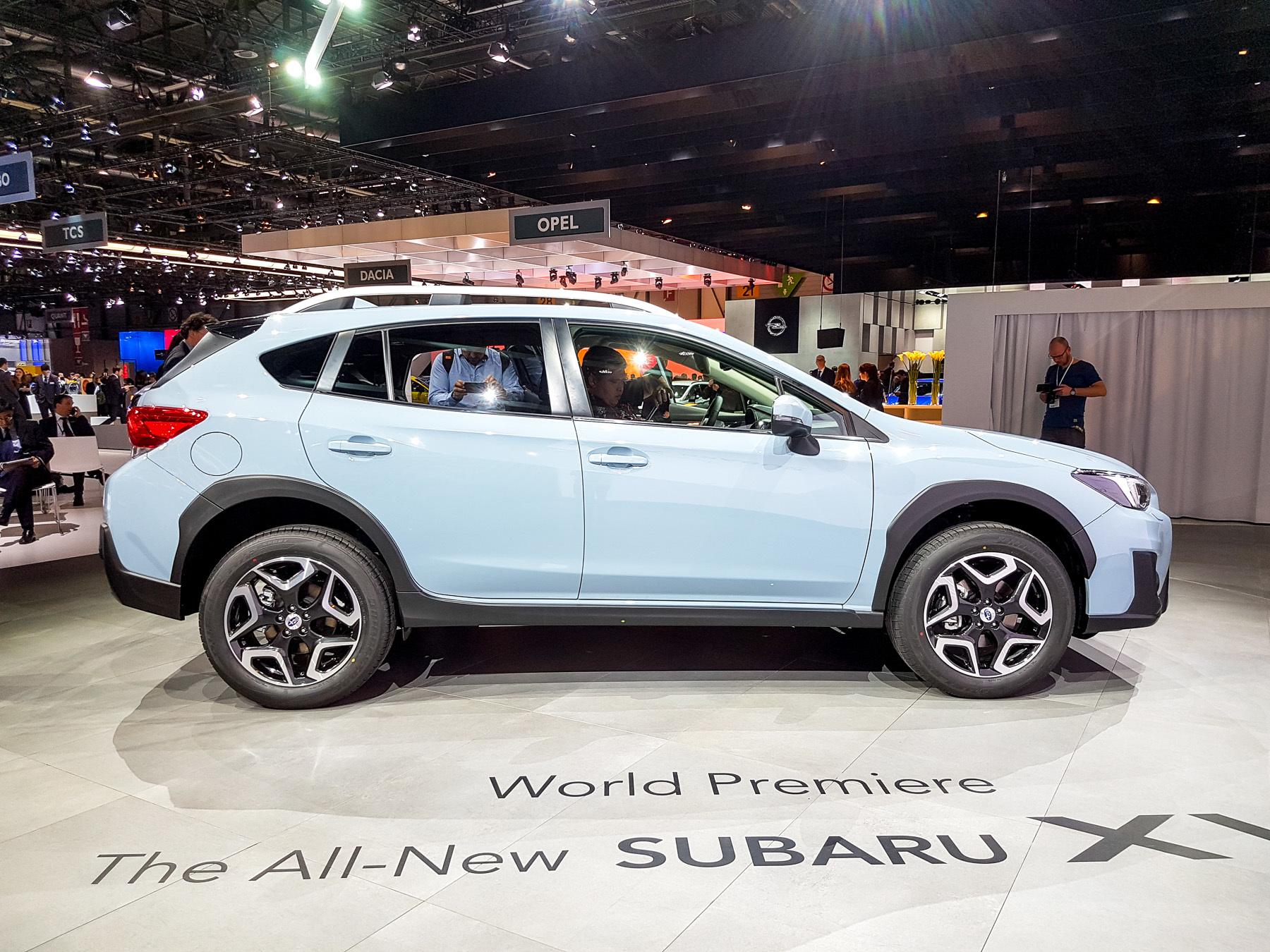 XV — новый кроссовер Subaru со старым именем 4
