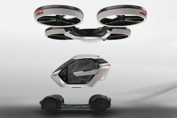 В Женеве представили летающее авто 1