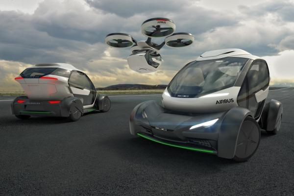 В Женеве представили летающее авто 2