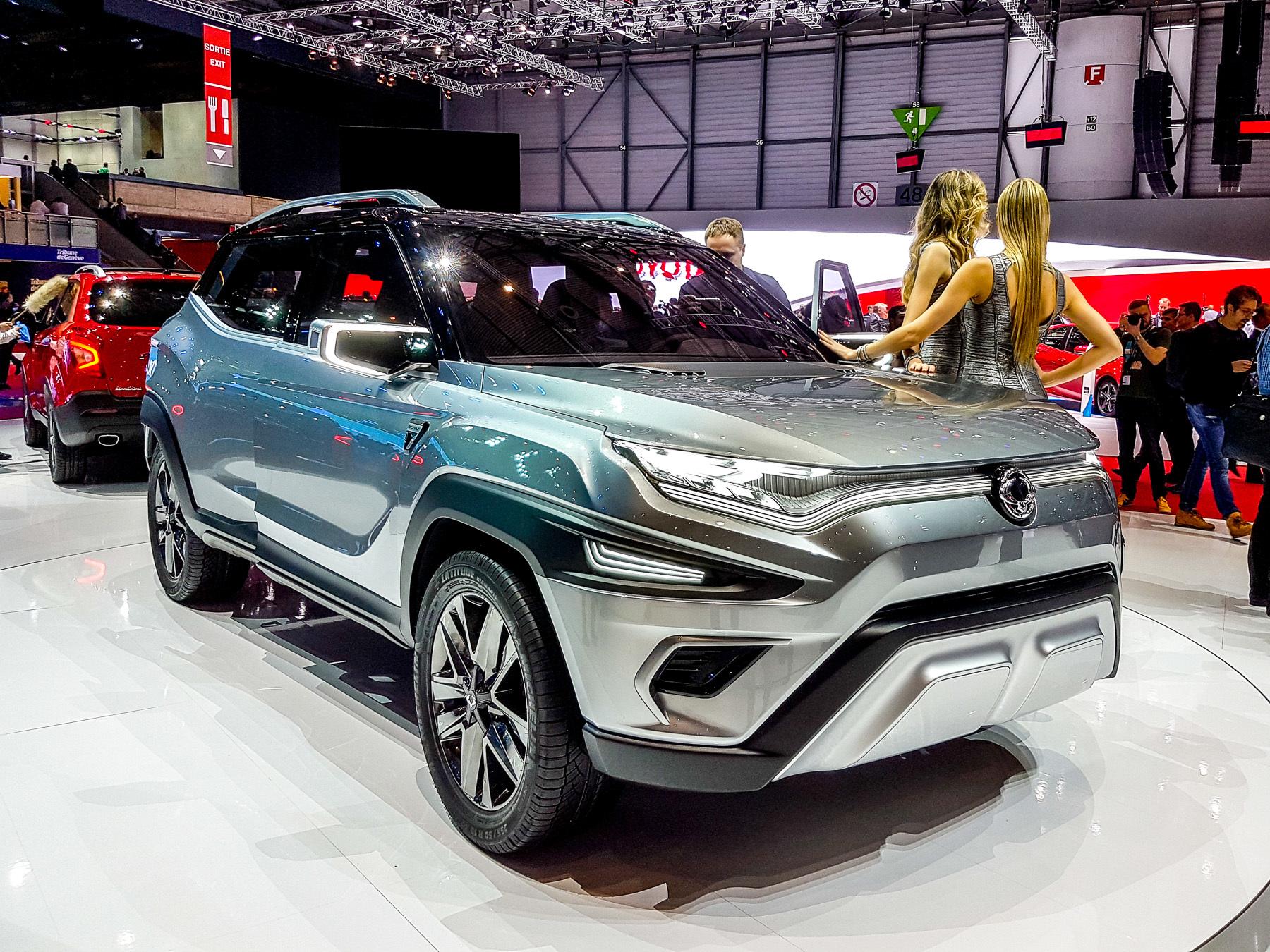 SsangYong показал «захватывающий настоящий автомобиль» 1