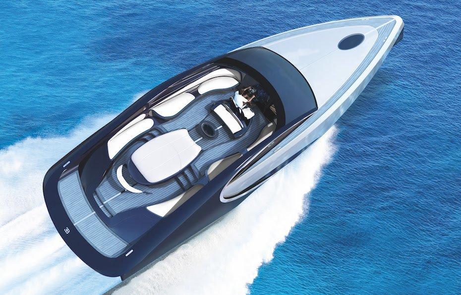 Bugatti спустили на воду 1