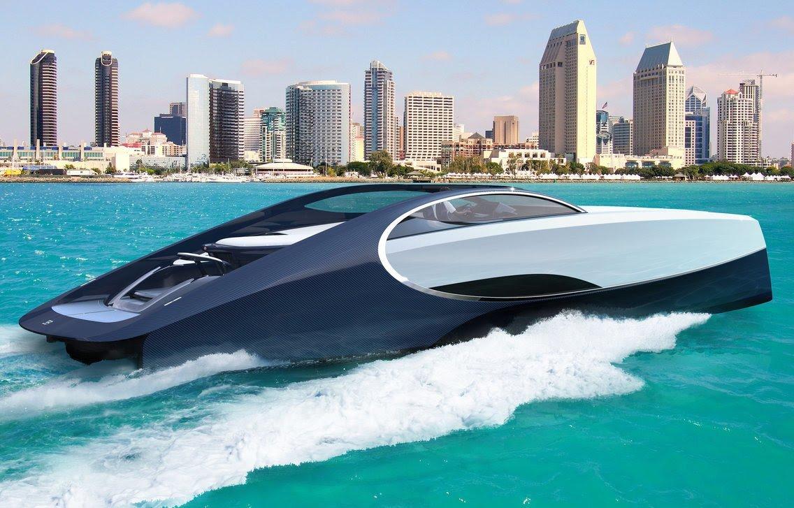 Bugatti спустили на воду 2
