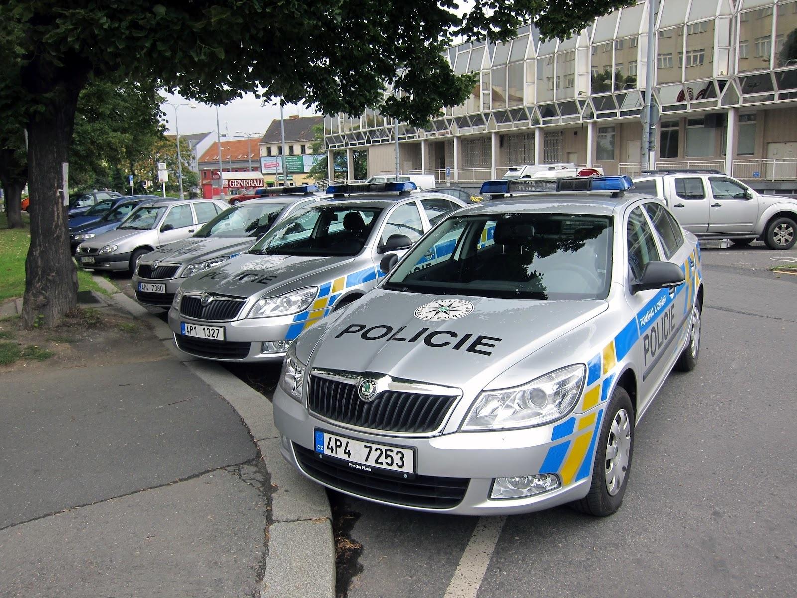 Чешские полицейские откажутся от автомобилей марки Skoda 1