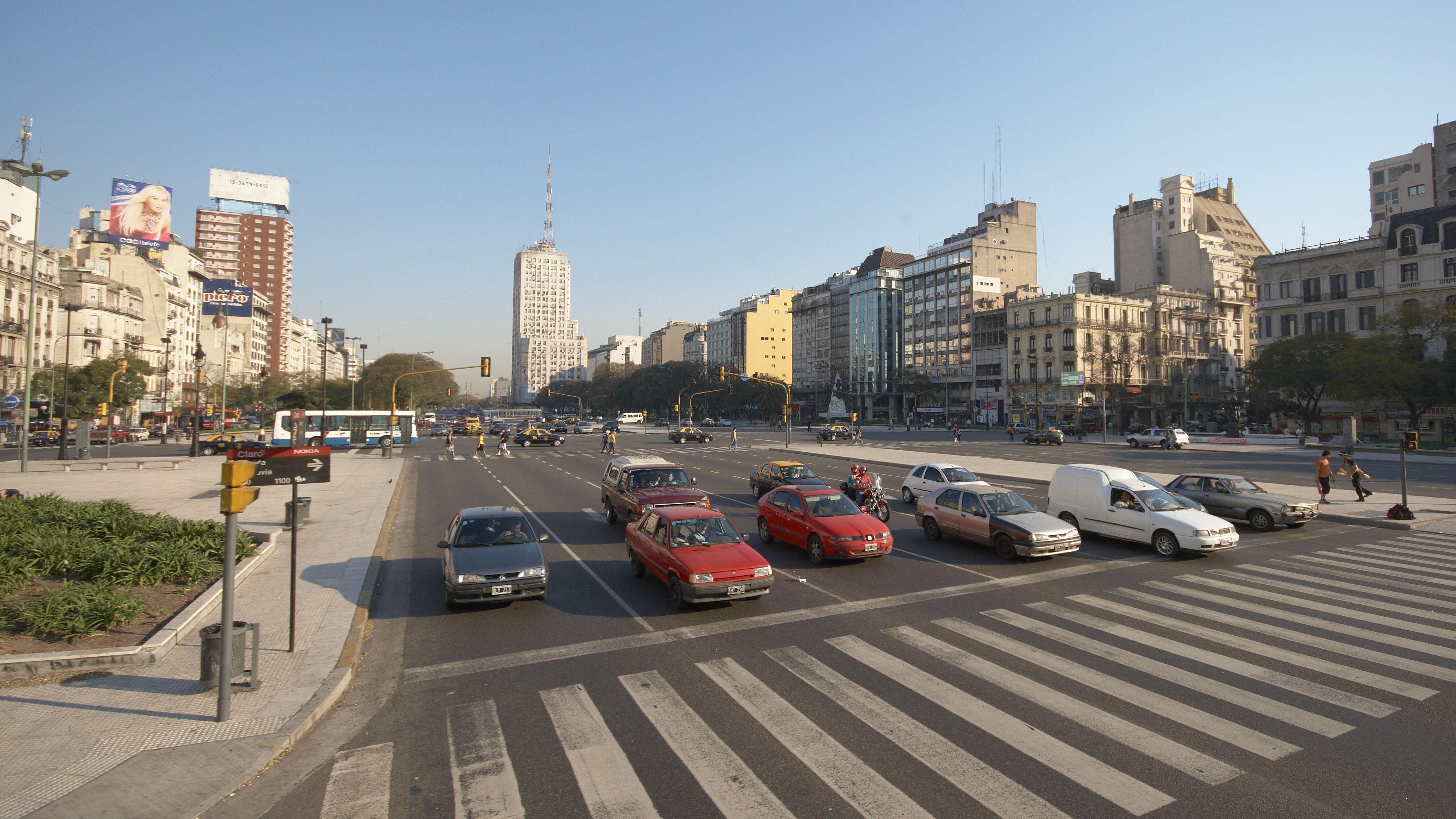 Где находится самая широкая улица в мире 3