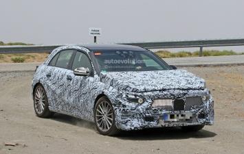 Новый Mercedes A-Class попал в «объективы фотошпионов» 1