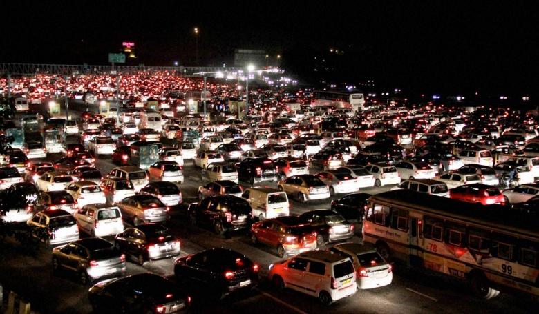 Шокирующие данные о смертности на дорогах Индии 1