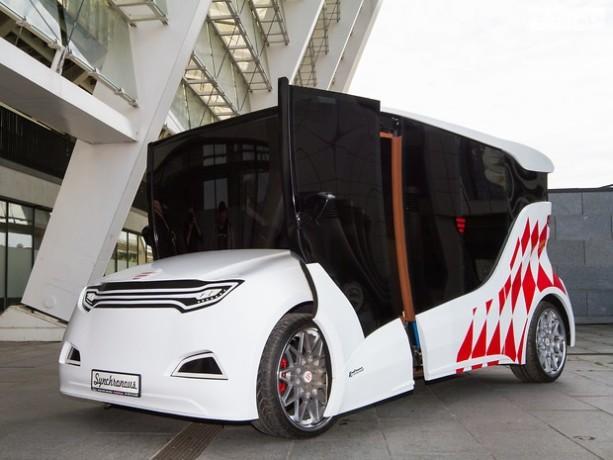 В Украине выпустили первый электромобиль 1