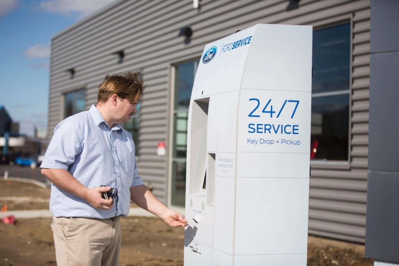 Ford проводит испытание нового способа прохождения техобслуживания 1