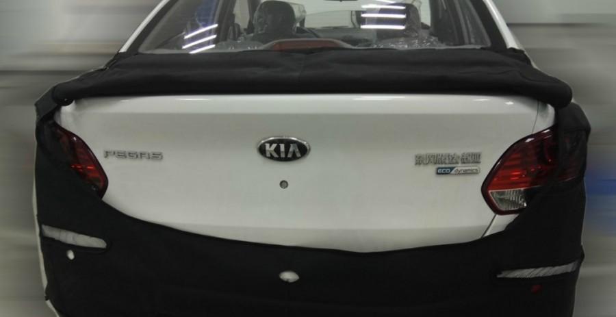 В сеть попали фотографии нового «бюджетника» Kia 2