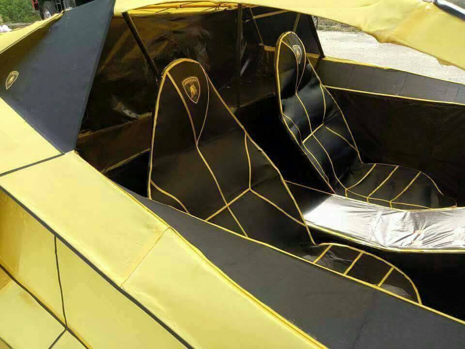 Тайванец создал копию Lamborghini Aventador и сжег ее 2