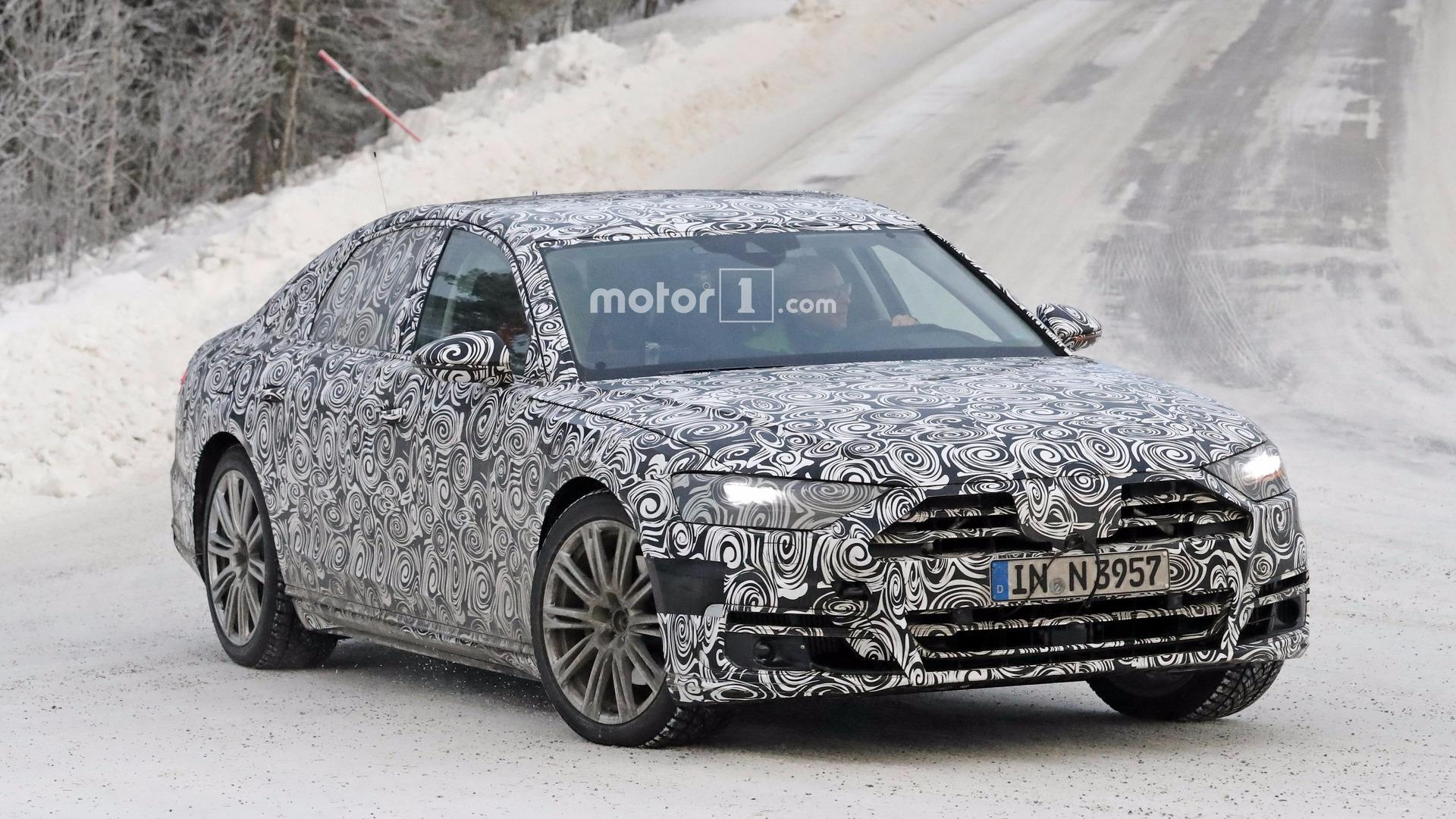Названа дата премьеры нового Audi A8 1