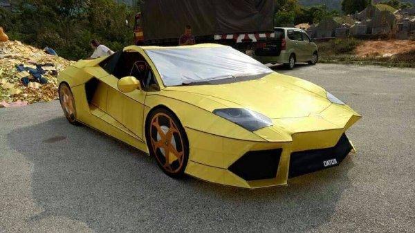 Автолюбитель построил «копию» Lamborghini для «погибших родственников» 1