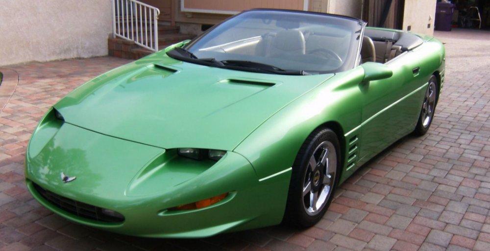 Стильный Camaro выставили на аукцион «за дорого» 1