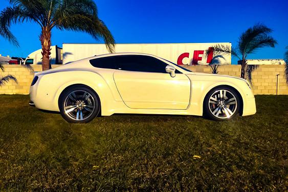 Автовладелец «превратил» свой Ford в «клон» Bentley 2
