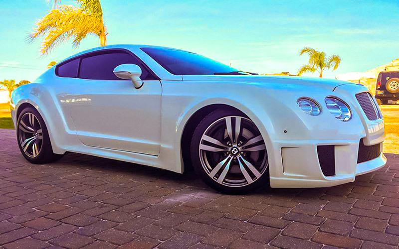 Автовладелец «превратил» свой Ford в «клон» Bentley 1