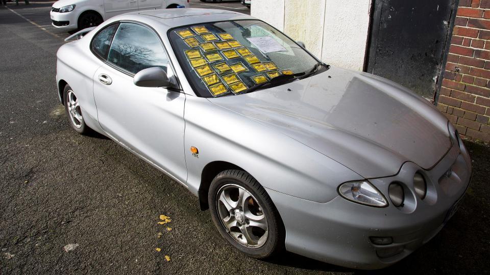 Британец заплатит за парковку в 17 раз больше стоимости своей машины 1