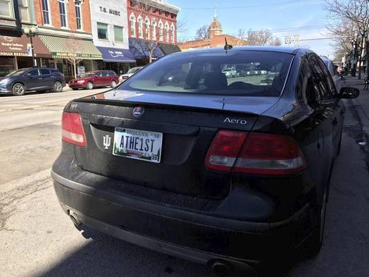 Владелец машины прикрепил автомобильный номерной знак «Атеист» 1