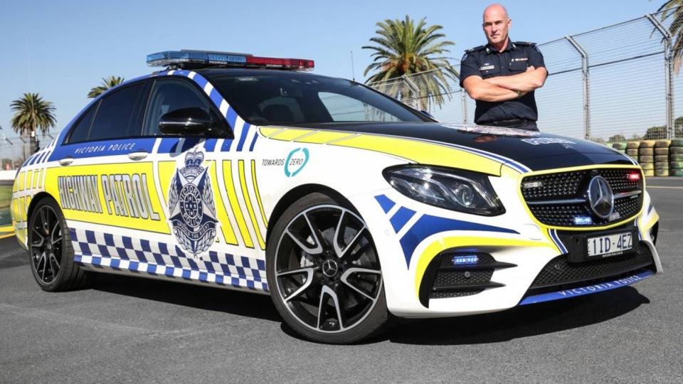 Полицейские пересядут на «горячий» Mercedes-AMG 1