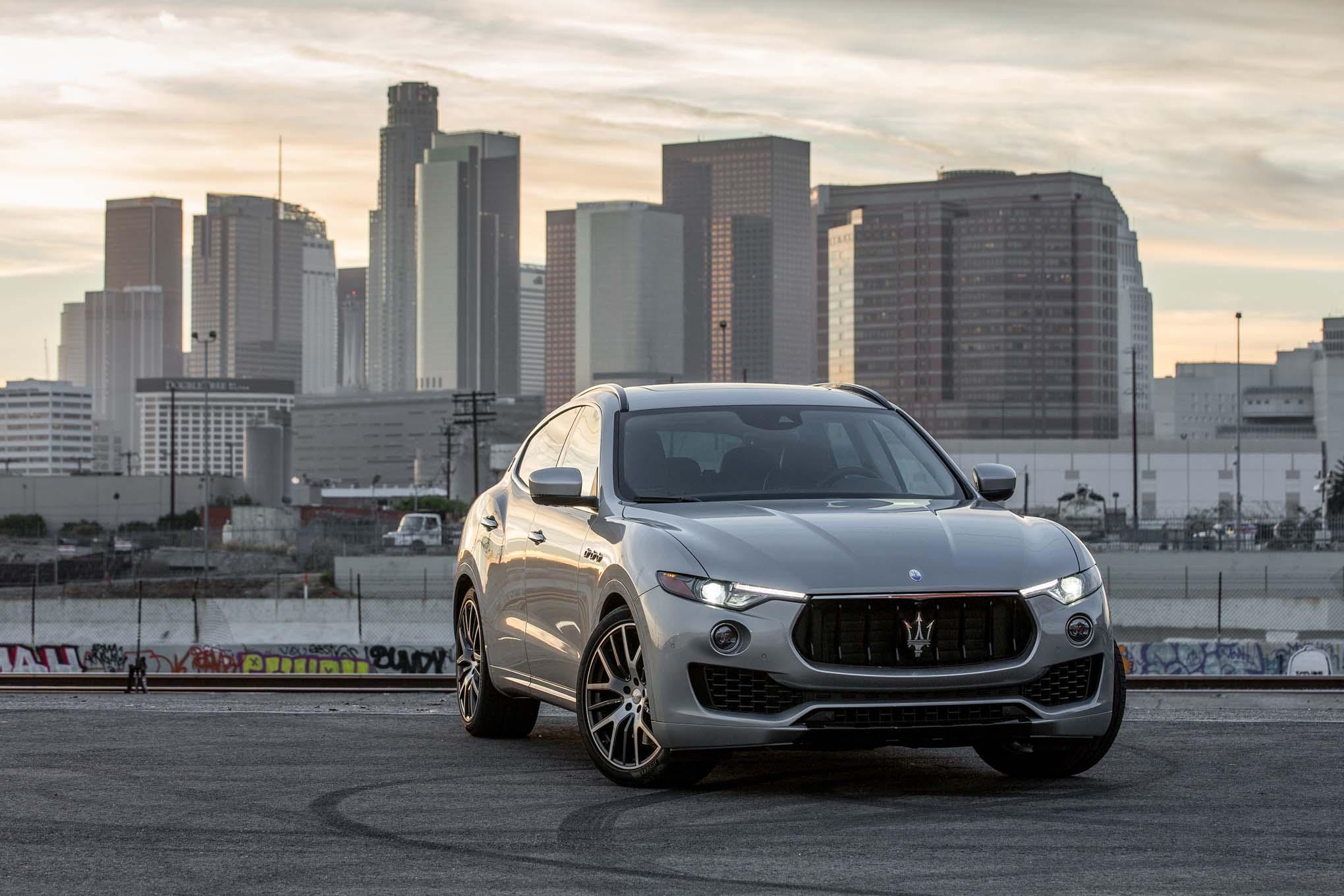 Maserati объявила четвертый отзыв Levante за четыре месяца 2