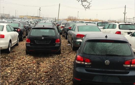 Нашелся склад с «запрещенными» дизельными VW 1