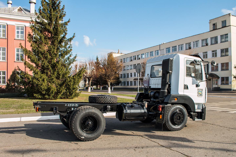 Новый «Кразёнок» — пятитонный грузовик, похожий на MAN 2