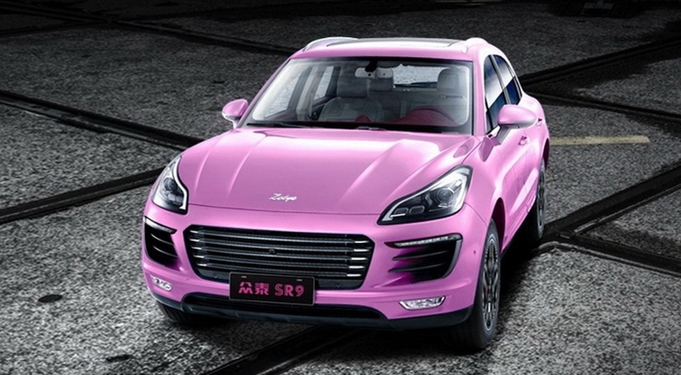 «Женская» версия китайского «клона» Porsche 1