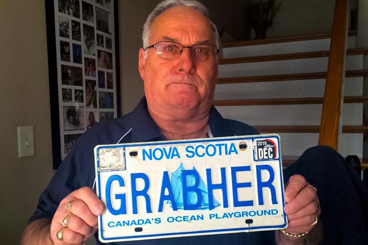 «Красивый» автомобильный номер, который запретили канадские власти 1