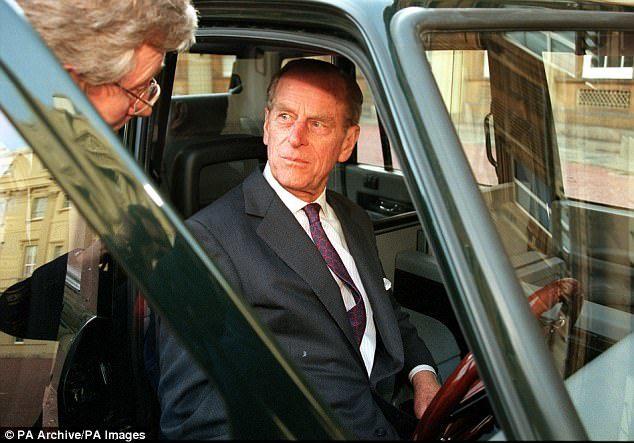 Супруг Королевы Великобритании рассекретил свою тайную машину 2