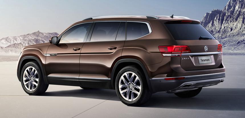 Большой внедорожник Volkswagen Teramont начинает покорять рынок 2