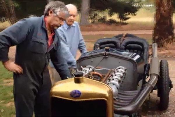 3D-принтер подарил новую жизнь столетнему гоночному автомобилю 1