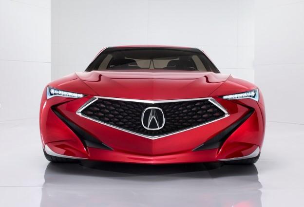 Acura приоткрыла рестайлинговый седан TLX 1
