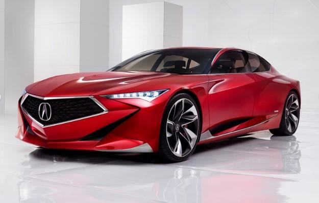 Acura приоткрыла рестайлинговый седан TLX 2