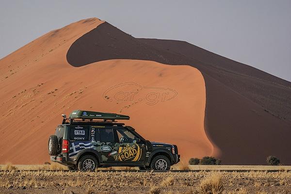 На аукцион выставили Land Rover, объехавший вокруг света 2
